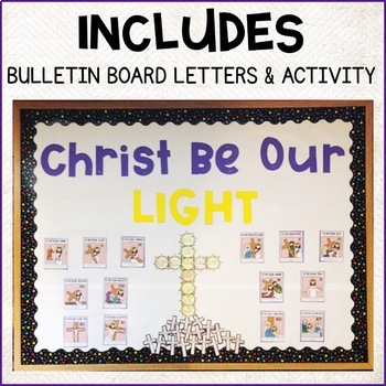 Lent Bulletin Board Stations Of The Cross Tpt