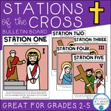 Lent Bulletin Board | Stations of the Cross