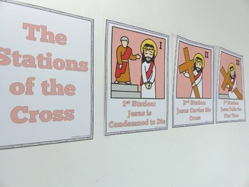 Stations of the Cross - Bulletin Board Set