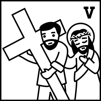 Stations of the Cross Clip Art Set (15 stations - Great for Lent!)