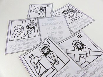 Stations of the Cross - Coloring Book