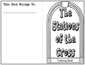 Stations of the Cross Coloring Booklet