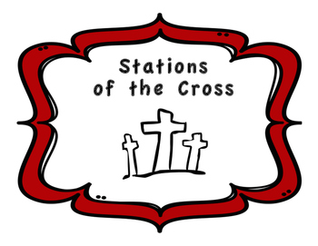 Stations of the Cross - Complete Workbook with Bible Readings and Pictures