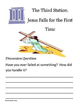 Stations of the Cross Discussion Question Packet