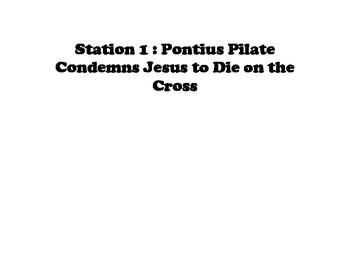 Stations of the Cross Drawing Project