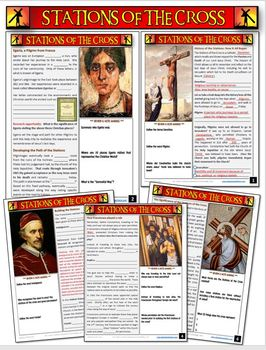 Stations of the Cross: Engaging Note Packet