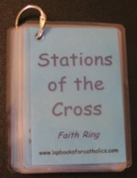 Stations of the Cross Faith Ring