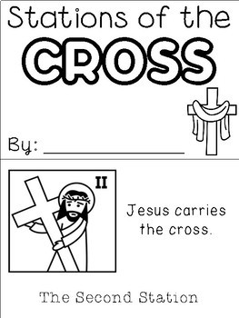 Stations of the Cross Flip Book