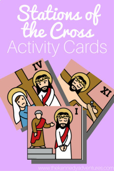 Stations of the Cross Activity Cards