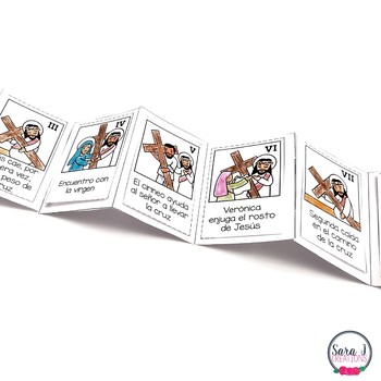 Stations of the Cross Mini Book SPANISH VERSION