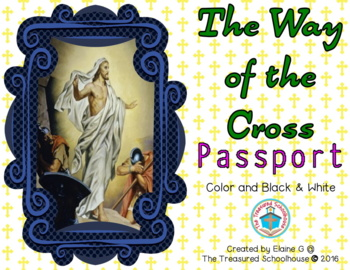 Stations of the Cross Passport in Color & BW