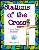 Stations of the Cross Posters and Coloring Pages