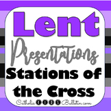 Lent Stations of the Cross Presentation: Prewriting, Proje