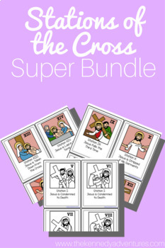 Stations of the Cross Super Bundle for Catholic Children