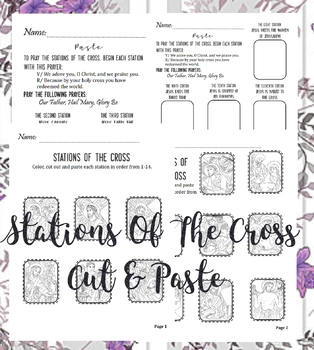 Stations of the Cross [cut & paste]