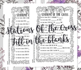 Stations of the Cross [fill in the blanks]