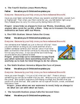 Stations of the Cross for Elementary Grades