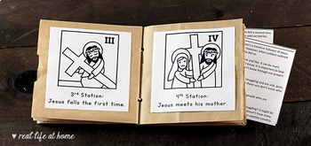 Stations Of The Cross For Kids 3 Booklets Coloring