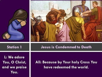 Stations of the Cross for Kids! An Active Reflection on Jesus' Passion