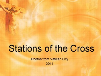 Stations of the Cross with pictures