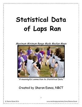 Statistical Data with Laps Student Jog!