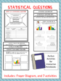 Statistical Question: Graphic Organizers with Stations