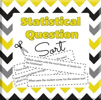 Statistical Question Sort - Identifying Statistical Questions