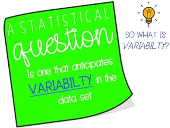 Statistical Questions {Lesson Bundle}