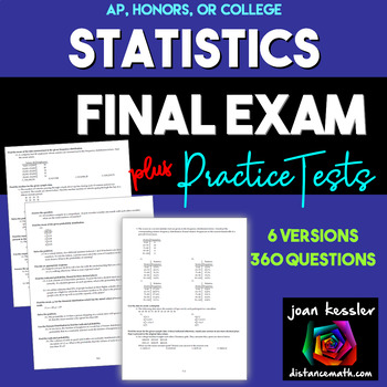 AP Statistics Final Review