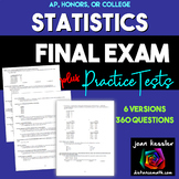 AP Statistics Final Exam and Review | Distance Learning