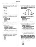 Statistics (Algebra) Test