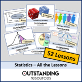 Statistics (ALL LESSONS) + ALL Supplementary Resources