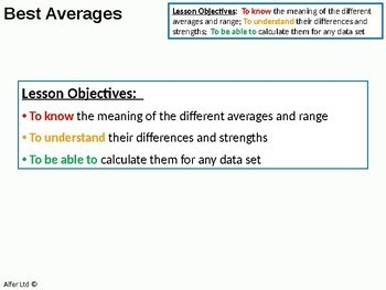 Statistics: Averages 2 - Which average is the best (+ resources)