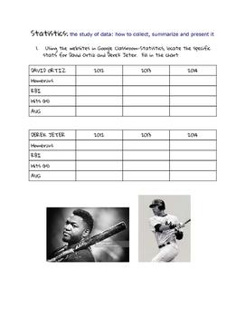 Statistics:  Baseball