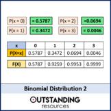 Statistics: Binomial Distribution 2 - Solving Problems / Calculating Prob