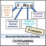 Statistics: Binomial Distribution Bundle (3 Lessons)
