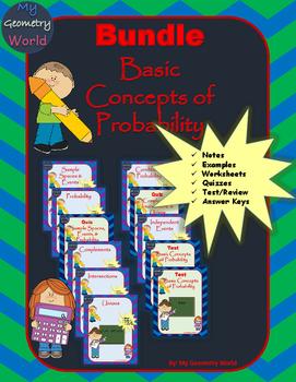 Statistics Bundle: Basic Concepts of Probability