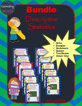 Statistics Bundle: Descriptive Statistics