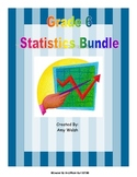 Statistics Bundle - Grade 6 Common Core - Printables, Game