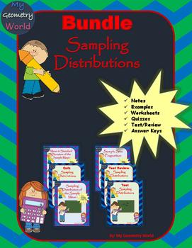 Statistics Bundle: Sampling Distributions