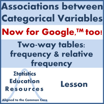 Categorical Data Worksheets & Teaching Resources | TpT