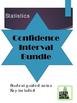 Statistics - Unit 6 -Confidence Intervals (Growing Bundle)