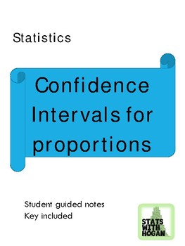 Statistics-Confidence Intervals for Proportions
