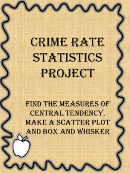 Statistics- Crime Rate Project