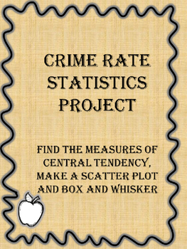 Statistics- Crime Rate Project