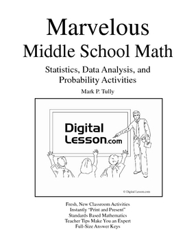 Statistics, Data Analysis, and Probability eBook for Middle School