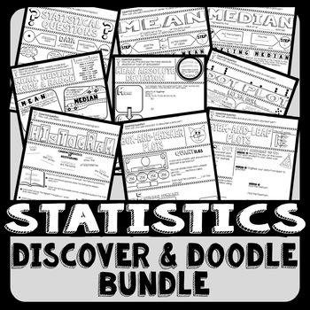 Statistics Discover & Doodle Bundle