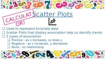 Math 1 Statistics EOC Review PowerPoint
