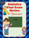 Statistics Final Exam Review: 1st Semester Final Exam Review