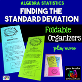 Standard Deviation Foldable Organizers for Statistics Distance Learning